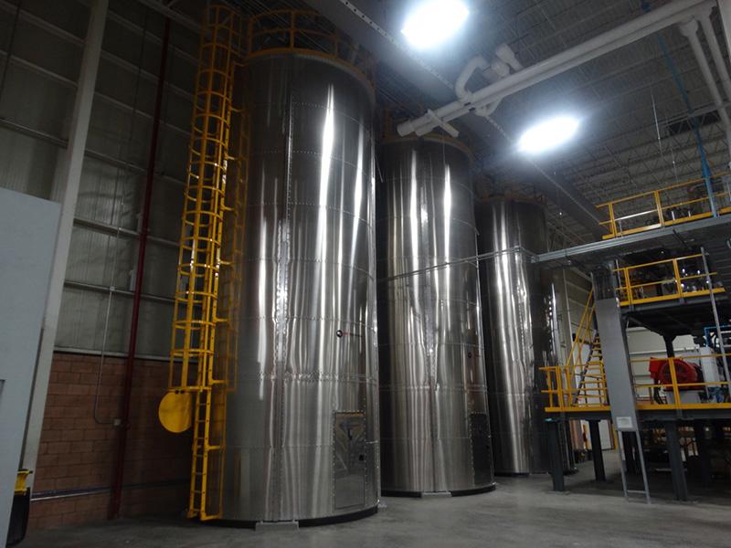 Silos modulares aluminio.