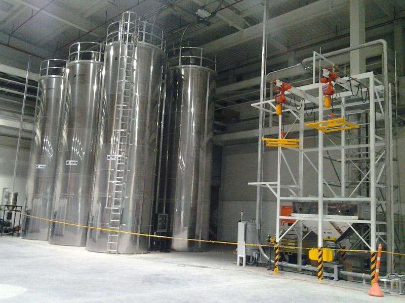 Carga a silos desde big-bags.